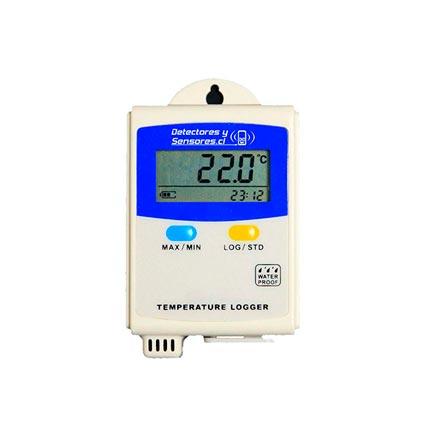 Termógrafo Datalogger Temperatura Amtast 43000 Registros
