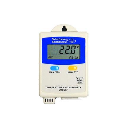 Termógrafo Temperatura Humedad con Pantalla y USB
