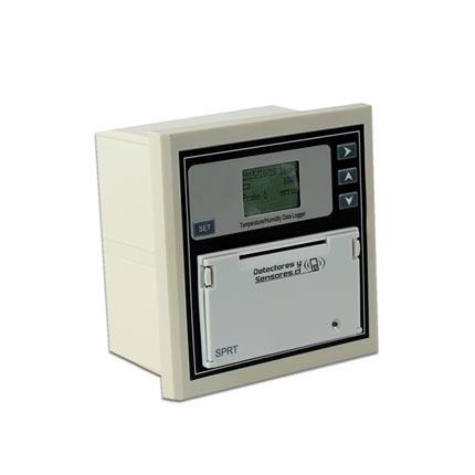 Datalogger Temperatura Humedad Pantalla Impresora y Rele