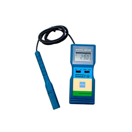 Medidor Temperatura y Humedad con Sonda Ductos