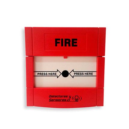 Botón de Pánico Incendio Inalámbrico