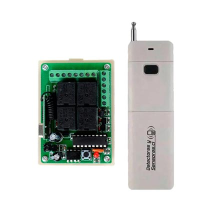 Control Remoto KIT Transmisor Receptor 100mts