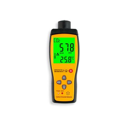 Detector de CO2 Portátil