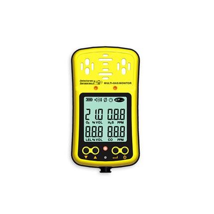 Detector Multi-Gas O2 H2S CO LEL