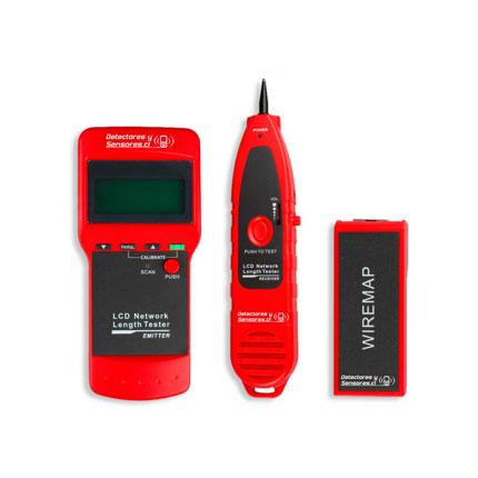 Localizador de Fallas Conexión Cable UTP Teléfono USB