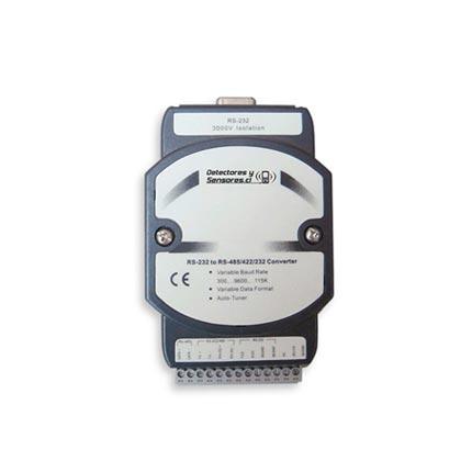Conversor Comunicación RS232 a RS485