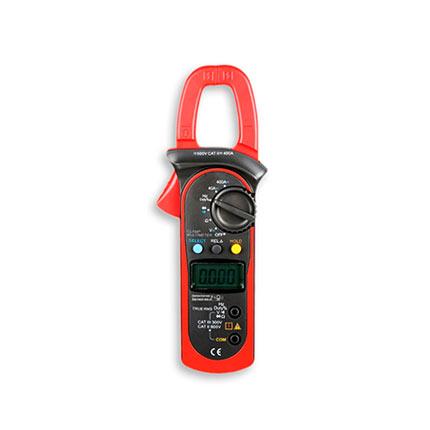 Amperímetro de Tenaza Digital DC 400A AC 400A