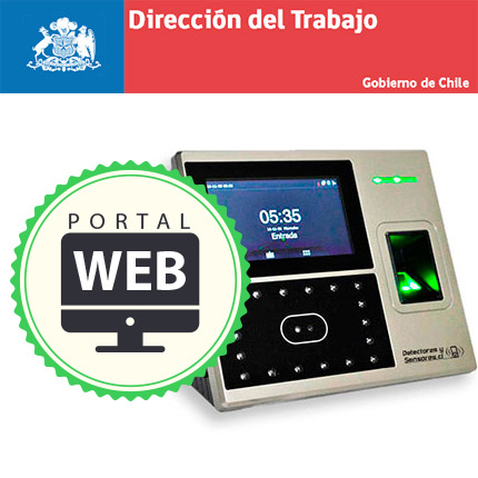 Control de Asistencia Reconocimiento Facial Certificado por Dirección del Trabajo