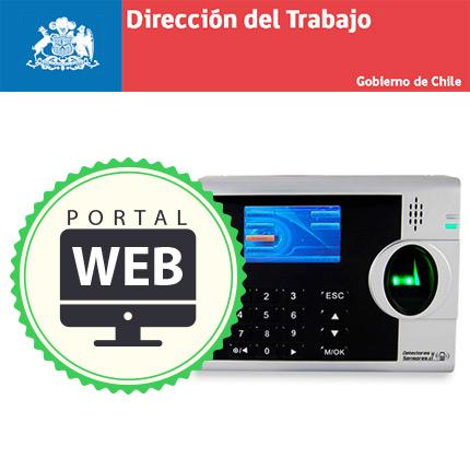 Control de Asistencia Reconocimiento de Huella Certificado por Dirección del Trabajo