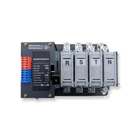Switch Transferencia Automático Circuito simple 4 Polos 125A