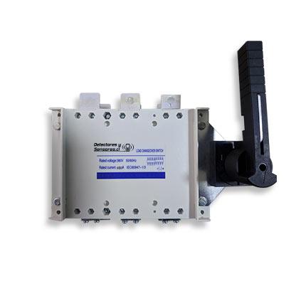 Switch Transferencia Automático Circuito simple 3 Polos 400A