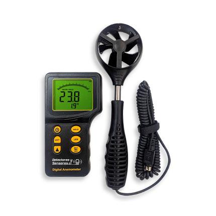 Anemómetro Termómetro Digital
