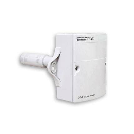 Detector de Co2 para Ductos con Salida Análoga