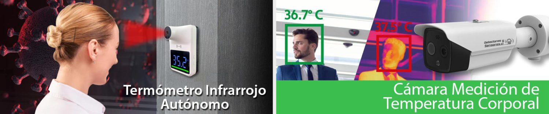 Termómetro para Personas - Cámara Temperatura Corporal