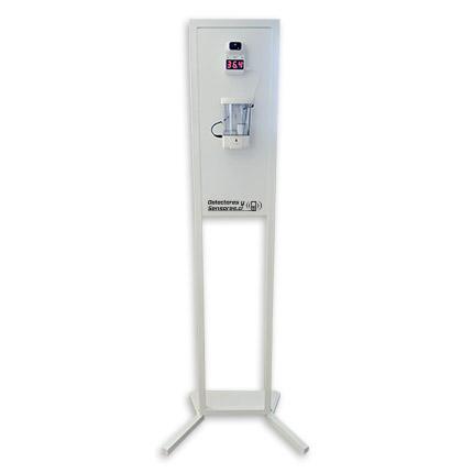 Tótem Dispensador Alcohol Gel Automático y Termómetro Infrarrojo Automático K3